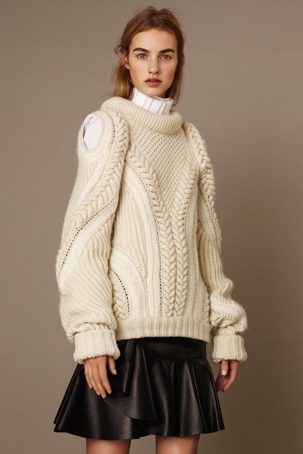 chunky knit 1 A McQ