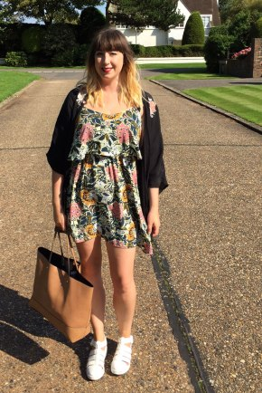 OOTD – Country Florals